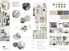 Interior design moodboard by Laure Bdt Dbn Interior Design Process, Interior Design Portfolios, Interior Design Sketches, Concept Design Interior, Mood Board Interior, Interior Design Boards, Office Interior Design, Moodboard Interior Design, Design Offices