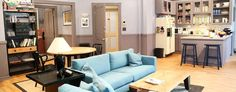 A re-creation of Jerry Seinfeld's TV apartment. (Getty Images)