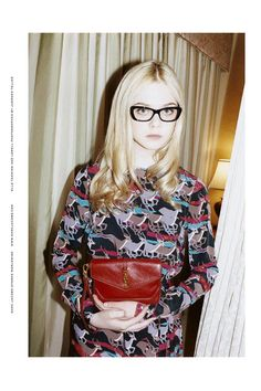 Elle Fanning by Juergen Teller for Marc by Marc Jacobs, Fall 2011 #campaign