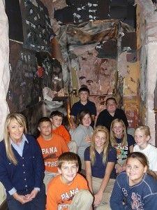 Cave art display