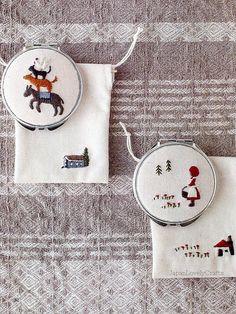 Annas Frist Embroidery Komono Zakka Japanese by JapanLovelyCrafts