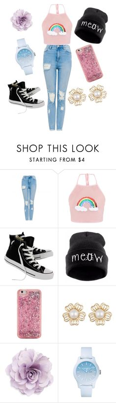 """""""First Date"""" by stellaheasman ❤ liked on Polyvore featuring Converse, ban.do, Cara and Lacoste"""