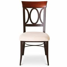 Amisco Cindy Dining Chairs Set of 2 by Amisco. $474.00. Custom Made, Stationary. Features wooden backrest, Upholstered chair comes with web seating. Each Amisco Bar Stool is custom made to your personal taste with just a few simple steps. First, Choose from a multitude of different metal finishes. They are all solid finishes, except the Oxidado finish is a semi-transparent finish that has inherent characteristics that allow the darkening of the construction welds a...