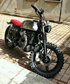 Honda cc 550 custom street tracker