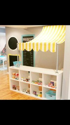 IKEA hack, kids grocery store                                                                                                                                                      More
