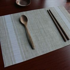 10 Must Have Kitchen Decoration - Japanese Style Placemats for Kitchen Table - White Dining Table Placemats, Japanese Style, Dinner Table, Home Kitchens, Kitchen Decor, Decoration, Holiday Decor, Place Mats, Dinning Table