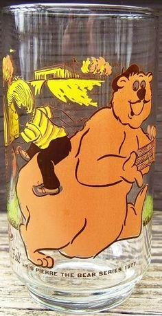 Check out LK pierre bear series libbey glass tumbler promotional 1977 fall autumn vintage  http://www.ebay.com/itm/LK-pierre-bear-series-libbey-glass-tumbler-promotional-1977-fall-autumn-vintage-/161054496285?roken=cUgayN&soutkn=eV63li via @eBay