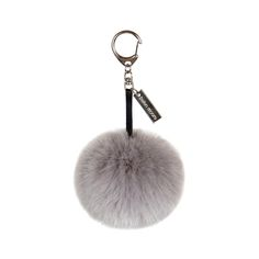 Add charm to your accessories with this Pom Pom keyring from Helen Moore. A great way to bring a personal twist to keys or handbags, a chic faux leather strap and engraved Helen Moore tag add elegance