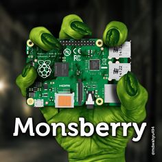 Argghhh... Monsberry #raspberrypi #coding #robotics #photoshop #graphicdesign #make #hack #linux #programming by mdwahyu494