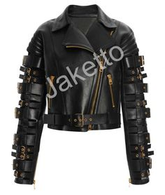 If you are fan of Zendaya Colemans than this jacket is only for you made by Jaketto.com you can buy this amazing and stylish leather jacket at very low price in good cowhide leather.