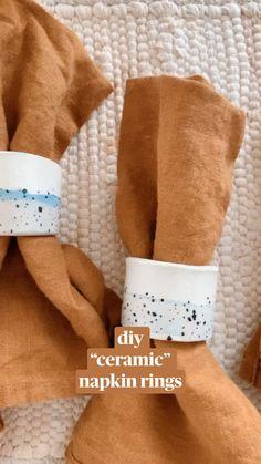 Cute Crafts, Diy Crafts, Decor Crafts, Diy Rings, Crafty Craft, Crafting, Diy Clay, Diy Art, Diy Tutorial