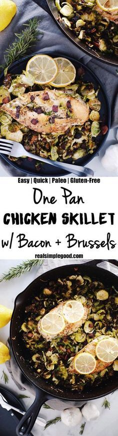 This one pan chicken #paleopantryideas