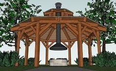 The pergola kits are the easiest and quickest way to build a garden pergola. There are lots of do it yourself pergola kits available to you so that anyone could easily put them together to construct a new structure at their backyard. Diy Gazebo, Backyard Gazebo, Outdoor Pergola, Fire Pit Backyard, Outdoor Fire, Backyard Landscaping, Gazebo Ideas, Pergola Lighting, Fun Backyard