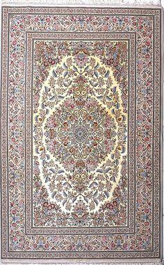 Isfahan Abrisham Silk Persian Rug