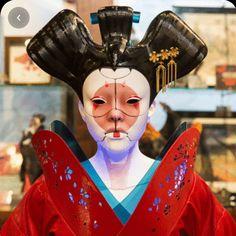Character Concept, Concept Art, Character Design, Tatoo Geisha, Cyberpunk Art, Ghost In The Shell, Human Art, Sculpture Art, Art Inspo