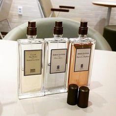 3 GIOIELLI  by Serge Lutens Clair de Musc: un muschiato indimenticabile Gris Claire: l'eleganza della lavanda Nuit de Cellophane: estatica fusione di mandarino e fiore di osmanthus #manlioboutique  Per spedizioni  WhatsApp 329.0010906 #sergelutens #parfume #fragrance #beauty #parfumes #loveit #cool #cute #jewels #ootd #instagood #instastyle #outfitoftheday