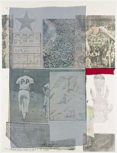 MoMA | The Collection | Robert Rauschenberg. Back Out. 1979