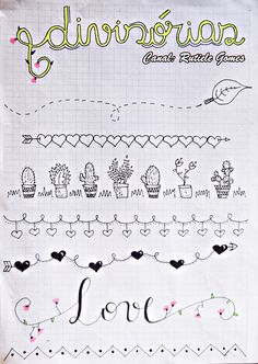 LINDAS DIVISÓRIAS/MARGENS PARA DECORAR CADERNO E BOJO! CLIQUE E VEJA MAIS!!!!! #caderno #decoraçãodecadernos #margens #diydecoraçãocaderno #cadernogeometrico #capasdetrabalhoescolares #capadetrabalho #ideias #bulletjournal #planner #façavocêmesmo #stationery #stationeryaddict #ilovestationery #sketchbook #journal #sketchpad