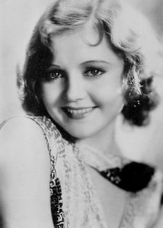 "Nancy Carroll (1903-1965) - began her acting career in Broadway musicals and became a successful actress in ""talkies""  through the end of the 1930's."