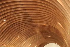 Wood Roof interior Design Cave Restaurant in Sydney by Koichi Takada Architects 01