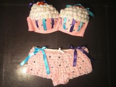 Cupcake Outfit. $75.00, via Etsy.