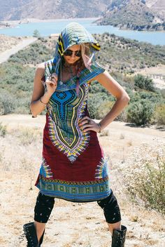 Day Tripper Hoodie Dress Festival Clothing by BlondeVagabond