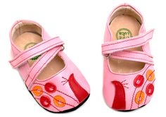 Baby Peacock Pink Soft Sole