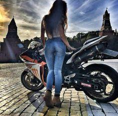 (notitle) - Bikes and Girls - Moto Ducati, Yamaha Yzf R1, Lady Biker, Biker Girl, Motorbikes Women, Motorbike Girl, Motorcycle Babe, Honda, Dirt Bike Girl
