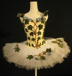 Tutu worn by Georgina Parkinson as The Fairy of the Woodland Glades in the Prologue of The Royal Ballet production of 'The Sleeping Beauty' (1946)