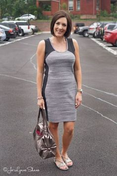 Fashion Over 40: Easy Summer Dress