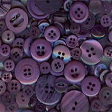 200 Assorted Purple buttons Small sizes by moggyssupplyshop, $7.25