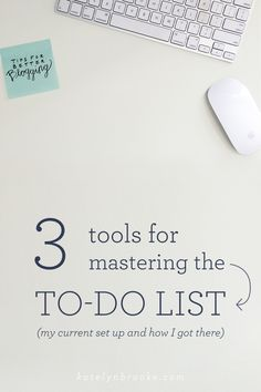 All the focus in the world won't help you if you don't know what you're supposed to be focused on, right? That's where the old to-do list comes in. When I first started my blog / business, I had li... [12/5/14]