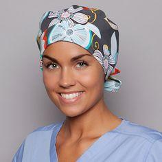 Pixie Scrub Hat Surgical Scrubs Cap Abigail Pixie Scrub Hat - blue sky scrubs