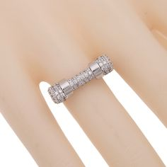 2016 Famous Brand Edgy Rock Luxury Exquisite Zirconina Ring For Women Party Nail Ring Jewelry Accessories WR009