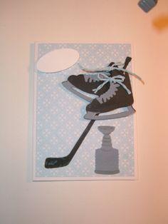 carte pour joueur de hockey