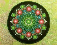 Mandala de piedra Regular por KimberlyVallee en Etsy