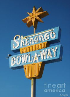 Shenango Bowl-A-Way, New Castle, Pennsylvania. Part of our Roadside Attractions series