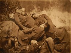Unknown - Corpses of Federated soldiers during the Paris Commune,  1871