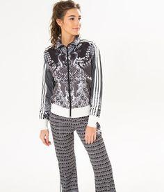 af6aac28655e jaqueta pavão de cor adidas Adoro Farm