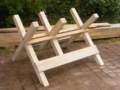 Sawhorse Plans Sawhorses are an all-important construction shaft and this article highlights 5 of log sawhorse plans the outflank 3 DIY designs with complete plans and ii off the shelf. Description from woodworking.duia.us. I searched for this on bing.com/images