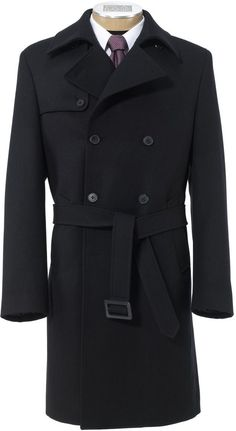 Jos. A. Bank Traveler Tailored Fit Double Breasted Trench Topcoat on shopstyle.com.au