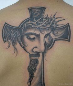 Croaa And Jesus Tattoo