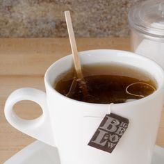 """From a zippy, double shot of espresso to an aromatic chai tea, your signature beverages are made one-of-a-kind with a dash of cream, a pinch of sugar, and this Royal Paper R810 5 1/2"""" wood coffee stirrer. Each stirrer is made of high quality birch wood, making it a reliable addition to all of your """"to go"""" orders! <br><br> A trendy flat profile and versatile 5 1/2"""" length make this coffee stirrer the perfect piece for coffee shops, concession stands, ..."""