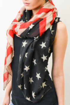 American Flag Scarf - The Rusty Rose Store