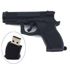 Amazon.com: High Quality 8 GB Gun Shape USB Flash Drive: Computers & Accessories