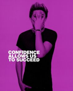 """We love One Direction's anti-bullying campaign! Niall Horan: """"Confidence allows us to succeed."""""""