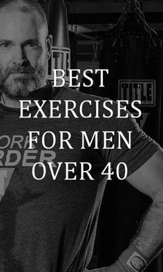 Here's the best exercises for men over 40.  No treadmills or yoga classes!