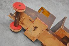 Online century modern Art & Design showroom, specialized in Industrial furniture and Dutch Modernism. Wooden Toy Trucks, Diy Workshop, Wood Toys, Industrial Furniture, Vintage Toys, Projects To Try, Woodworking, Plane, Trains