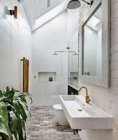 """The Stylephiles   Sydney   NYC (@thestylephiles) no Instagram: """"Bedridden with flu = hours of Instagram wishlisting. This bathroom rounding out a very long list of…"""""""