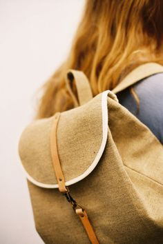 Classic Backpack Raw Natural